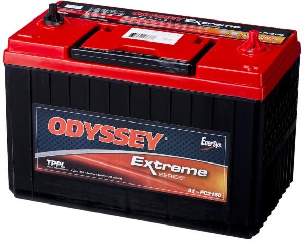 Hawker Odyssey PC2150-31 12V 92Ah 1150A AGM Starterbatterie und Versorgungsbatterie Reinblei