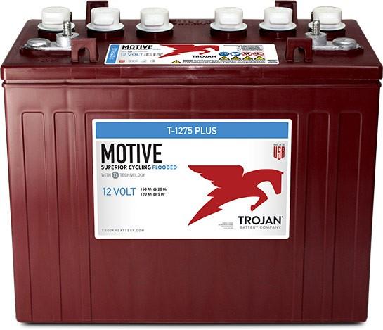 Trojan T-1275 Plus 12V 150Ah Deep Cycle Traktionsbatterie ELPT-Anschluss
