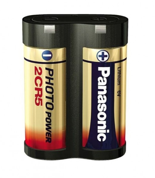 Panasonic 2CR5 6V Photo Power Lithium Batterie (1er Blister)