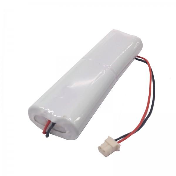 Akku Pack 4,8V 1600mAh NiMH AA L2x2 mit Kabel Molex 50-37-5023