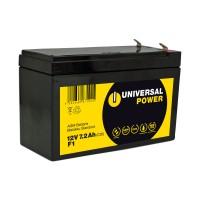 Universal Power AGM UPS12-7.2 F1 12V 7,2Ah AGM Batterie USV Akku wartungsfrei Anschluss F1