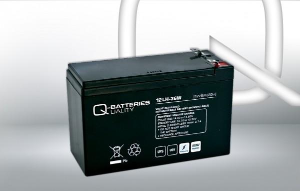 Ersatzakku für Best Power Patriot Pro 400VA USV-Anlage