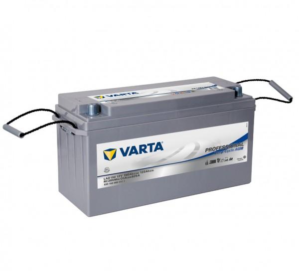 Varta LAD150 Professional DC AGM Batterie 12V 150Ah 825A 830150090