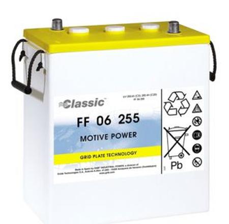 Exide Classic FF 06 255 Antriebsbatterie 6 Volt 255 Ah (5h) drivemobil Traktionsbatterie