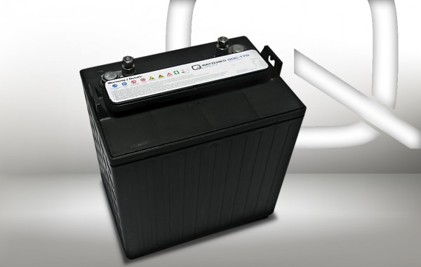 Q-Batteries 8DC-170 8V 170Ah Deep Cycle Traktionsbatterie