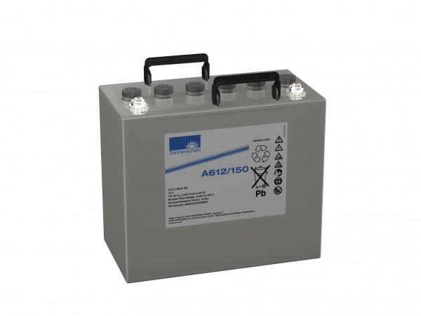Exide Sonnenschein A612/150 12V 150Ah (C10) dryfit Blei-Gel Akku VRLA
