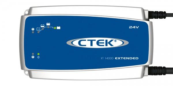CTEK XT 14000 Extended Ladegerät (AC-Netz) für Blei Akku 24V 14A Ladestrom Hochfrequenzladegerät