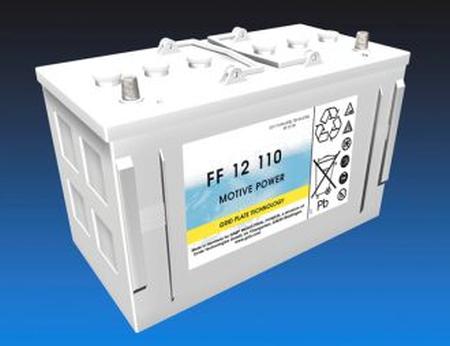 Exide Classic FF 12 110 Antriebsbatterie 12 Volt 110 Ah (5h) drivemobil Traktionsbatterie