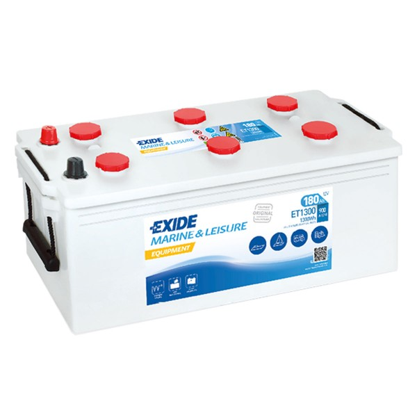 Exide ET1300 Equipment 12V 180Ah Semitraktion Versorgungsbatterie