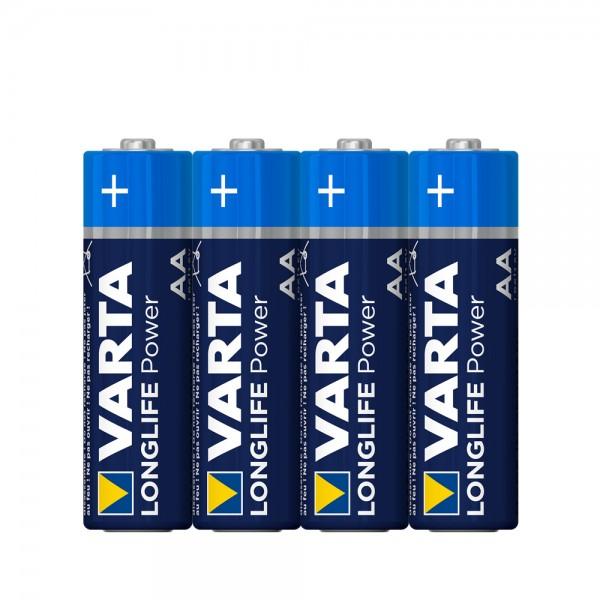 Varta Longlife Power Mignon AA Batterie 4906 LR06 (4er Folie)