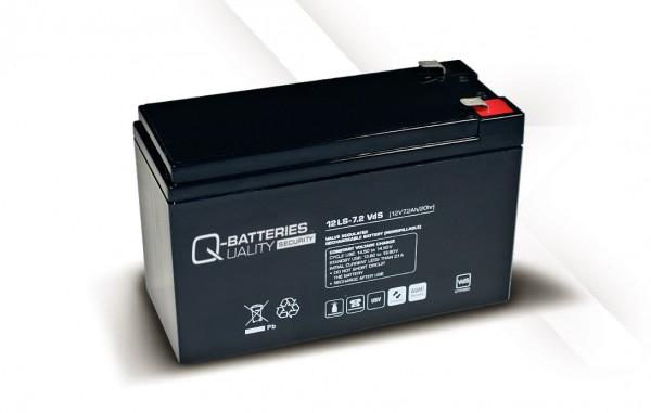Ersatzakku für APC Back-UPS CS BK500EI RBC2 RBC 2 / Markenakku mit VdS