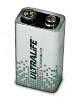 Ultralife U9VL-J-P - 9V Block Power Cell Lithium Batterie 9V 1200mAh UN3090