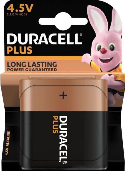 Duracell Plus 3LR12 4,5V Block Batterie MN 1203 (1er Blister)