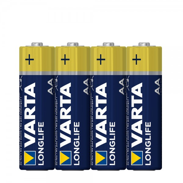 Varta Longlife Mignon AA Batterie 4106 (4er Folie)