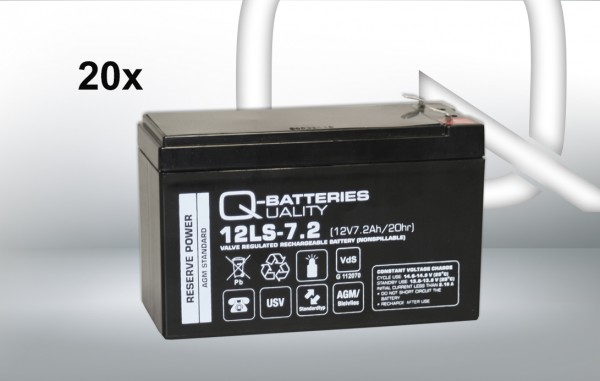 Ersatzakku für AIPTEK PowerWalker VFI 6000 LE Plus / Markenakku mit VdS