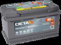 DETA DA852 Senator3 12V 85Ah 800A Autobatterie