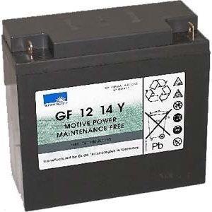 Exide Sonnenschein GF 12 014 Y F dryfit Blei Gel Antriebsbatterie 12V 14Ah (5h) VRLA