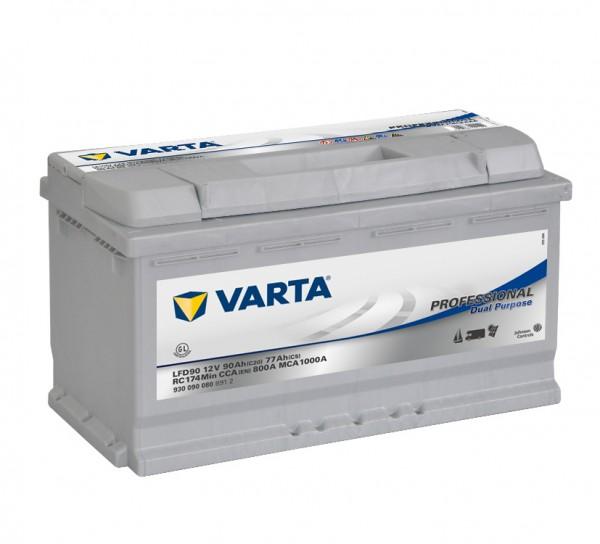Varta Professional DP LFD 90 12V 90Ah 800A/EN 930 090 080