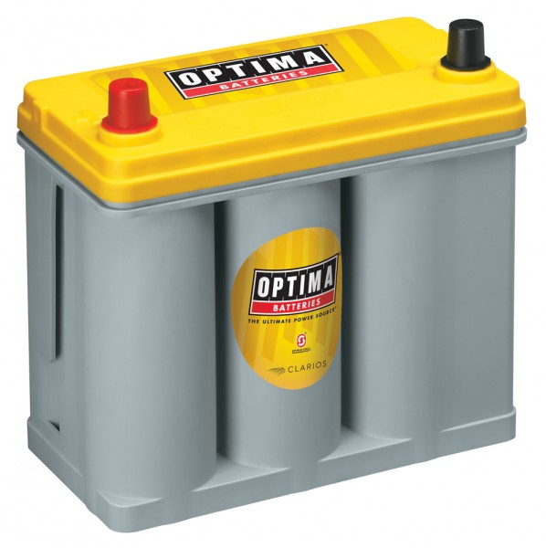 Optima Yellow Top YT S - 2.7, 12V 38Ah, AGM Zyklenfest, Spiralcell Technologie