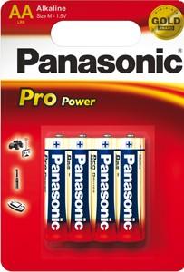 Panasonic Pro Power LR06 Mignon AA Alkaline Batterie (4er Blister)