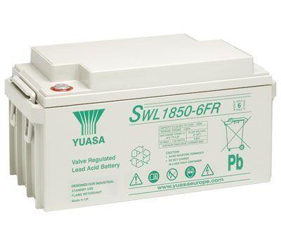 Yuasa SWL1850-6 FR 132Ah (10h) mit 1152 Watt 6V Bleiakku SWL-Serie AGM Akku