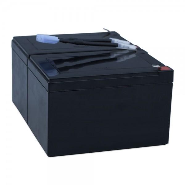 Ersatzakku für APC-Back-UPS RBC6 - fertiges Batterie-Modul zum Austausch