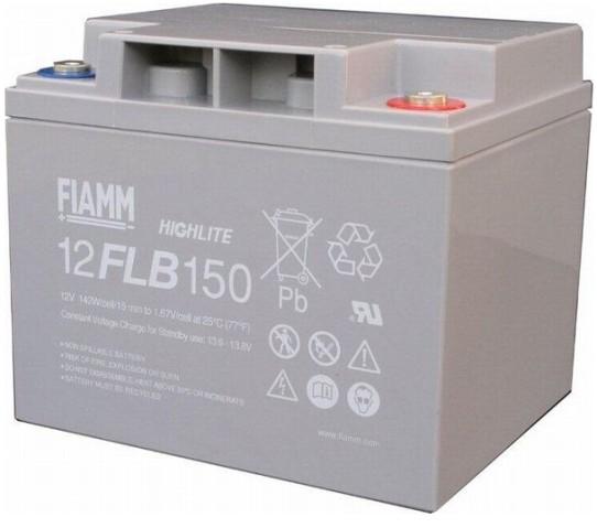 Fiamm HighLite 12FLB150P 12V 40Ah AGM Blei-Vlies 10-12 Jahres-Batterie