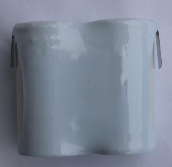 Akku Pack 2,4V 2500mAh Reihe NiCd F2x1 2xC-Hochtemperaturzellen / Lötfahne