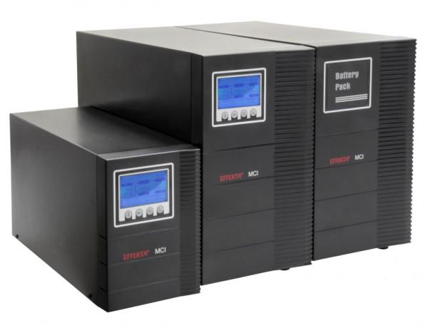Effekta MCI 1000 Online-Dauerwandler USV 1000VA 900W