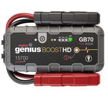 Noco Genius Booster GB70 Starthilfegerät 12V 2000A Gefahrgut nach UN3480 Lithium Batterien!