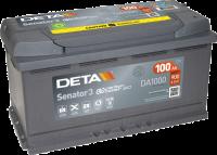DETA DA1000 Senator3 12V 100Ah 900A Autobatterie