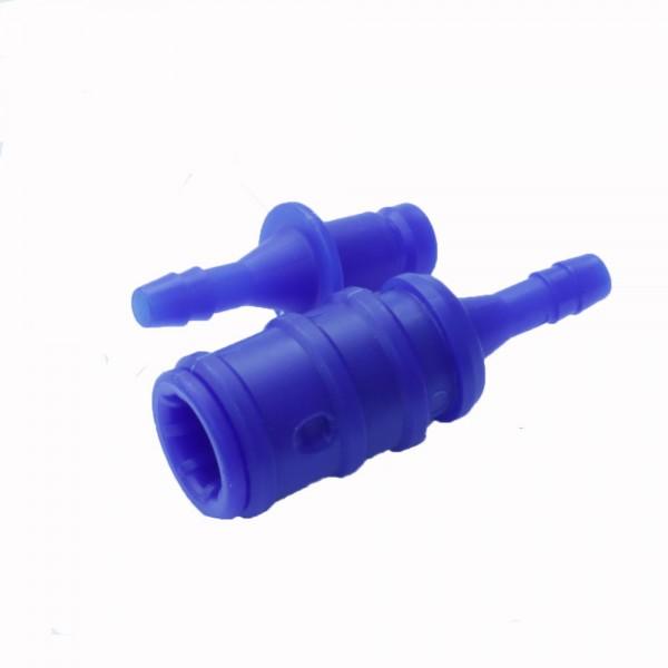 EUW Kupplungsdose und Kupplungsstecker Set 6mm