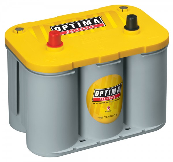 Optima Yellow Top YT S - 4.2, 12V 55Ah, AGM Zyklenfest, Spiralcell Technologie