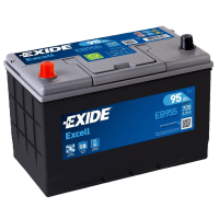 Exide EB955 Excell 12V 95Ah 720A Autobatterie