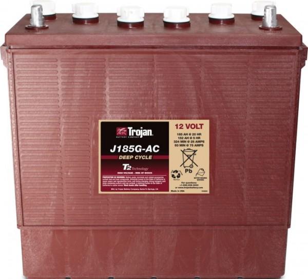 Trojan J185G-AC 12V 185Ah Deep Cycle Traktionsbatterie UT-Anschluss