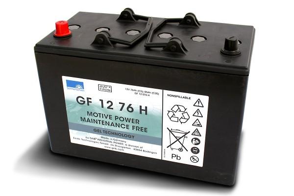 Exide Sonnenschein GF 12 76 H dryfit Blei Gel Antriebsbatterie 12V 76Ah (5h) VRLA