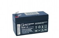 Q-Batteries 12LS-1.2 12V 1,2Ah Blei-Vlies Akku / AGM VRLA mit VdS