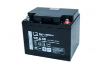 Q-Batteries 12LS-38 12V 38Ah Blei-Vlies-Akku / AGM VRLA mit VdS