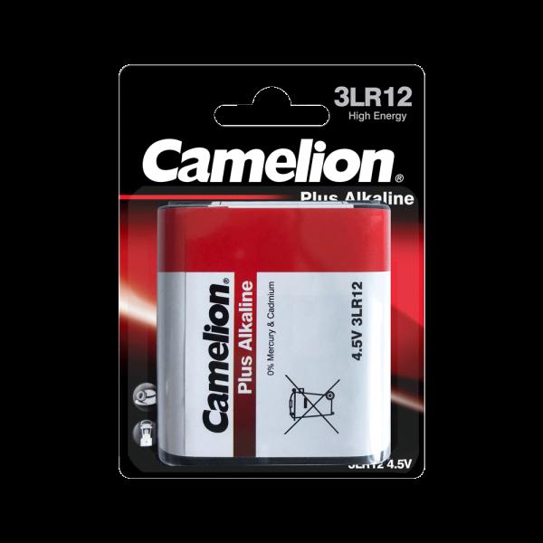 Camelion PLUS 3LR12 MN1203 4,5Volt Block Alkaline Batterie (1er Blister)