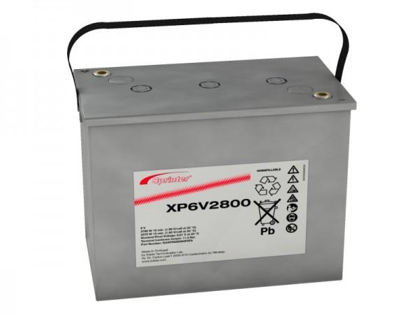 Exide Sprinter XP6V2800 6V 195Ah Blei-AGM Akku