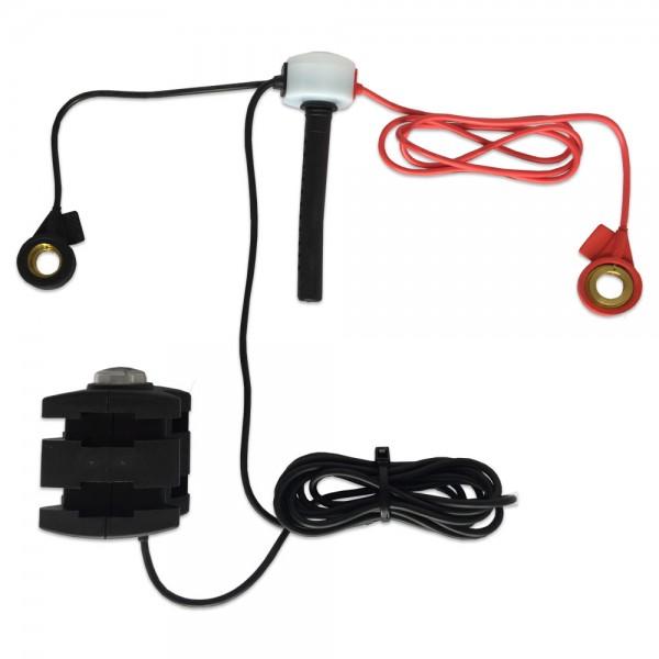 Level Sensor zur Staplerbatterie-Überwachung mit externer LED am Stecker 77mm