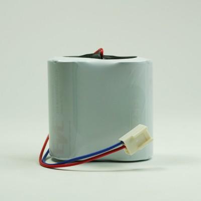 Batteriepack Lithium 2x Baby C Zellen 7,2V 8500mAh mit Kabel + Molex Stecker