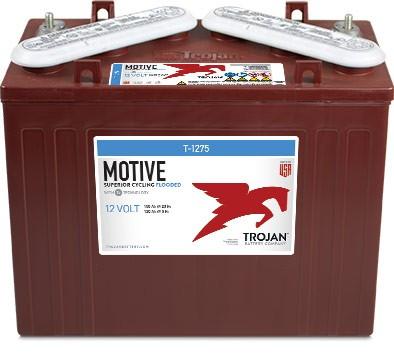 Trojan T-1275 12V 150Ah Deep Cycle Traktionsbatterie ELPT-Anschluss