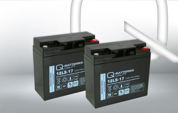 Ersatzakku für Best Power Fortress I LI 1,3kVA / Markenakku mit VdS