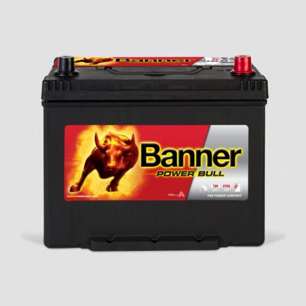 Banner P8009 Power Bull 12V 80Ah 640A Autobatterie