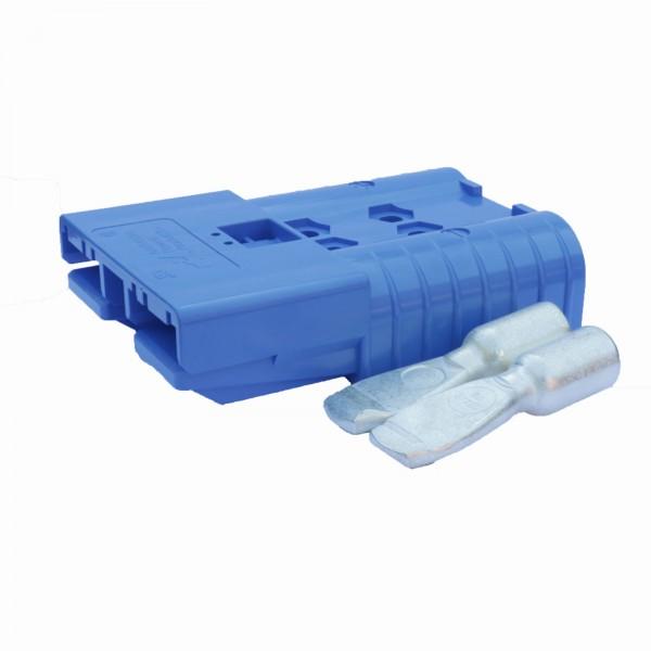 Anderson Flachstecker SBE 320A blau, Stecker inkl. 2 Hauptkontakte, 48V, 70mm² (oder ähnlich Anderso