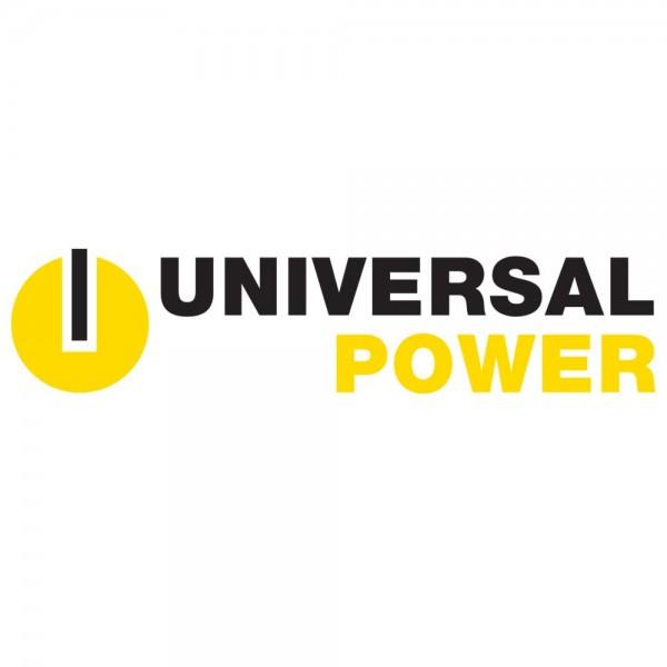Aufkleber für Universal Power UPC12-80, bitte 12LC-67 überkleben