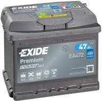 Exide EA472 Premium Carbon Boost 12V 47Ah 450A Autobatterie