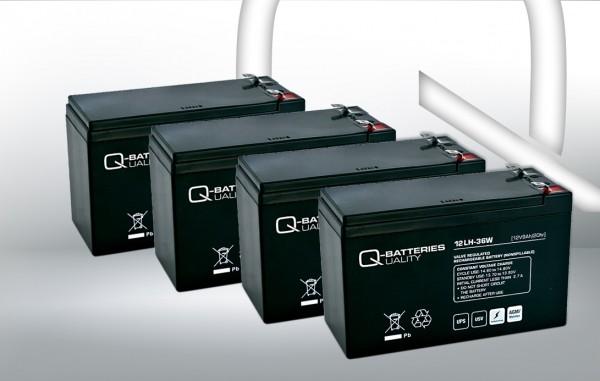 Ersatzakku für Best Power Axxium RM 1500VA USV-Anlage