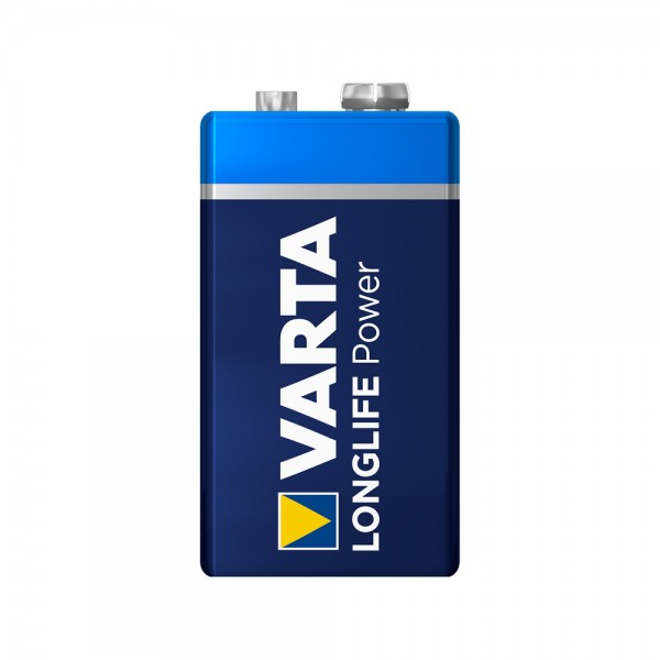 Varta Longlife Power 9V Block Batterie 4922 6LR61 (lose)